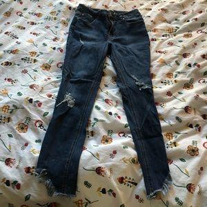 ⚡️Host Pick⚡️NWOT highway jeans